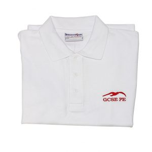 JRCS Polo-Shirt White-GCSE-PE